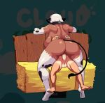 animated anthro balls bouncing_balls bouncing_breasts bovine breasts cloud_meadow cum cum_in_pussy cum_inside cum_on_balls cum_on_ground cum_on_penis dark-skinned_female dark_skin female female_on_top human human_on_anthro interspecies large_breasts larger_female male mammal messy no_sound nude penetration penis pussy s-purple saggy_balls screencap sex size_difference smaller_male tagme vaginal_penetration voluptuous webm white_hair