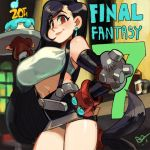 alex_ahad big_breasts final_fantasy final_fantasy_vii tifa_lockhart