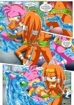 amy_rose chaos mobius_unleashed palcomix tagme tentacled_girls!_2 tikal_the_echidna