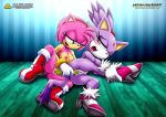 amy_rose blaze_the_cat breasts palcomix pussy sex_toy sonic_the_hedgehog tagme