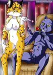 bbmbbf big_breasts fur34 heart lynx miyu_lynx nintendo palcomix panther panther_caroso pussy rose starfox veins