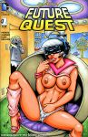 big_breasts hand_in_panties high_heels judy_jetson nipples the_jetsons