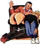big_ass otk over_the_knee spank spanked spanking