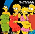 incest lisa_simpson maggie_simpson marge_simpson milf mom_son mother's_duty mother_&_son mother_and_son pregnant the_simpsons