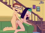 american_dad anal animated animated_gif breast brother_and_sister couch doggy_position from_behind gif hairless_pussy hayley_smith incest naked nipple nude open_mouth penis pussy sfan sfan_(artist) steve_smith testicles