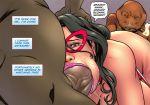 1girl 4boys sex superheroine wonder_woman