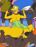 brown_skin josemalvado marge_simpson tagme the_simpsons yellow_skin