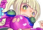 alolan_muk alolan_pokemon artist_request big_breasts lillie lillie_(pokemon) muk nipples pokemon pokemon_sm porkyman