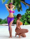 3d big_breasts daphne_blake glasses nipples scooby-doo thighs velma_dinkley