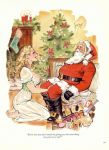 cartoon kneel santa tagme toon
