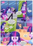 2017 applejack applejack_(mlp) clothed comic equestria_girls equestria_untamed friendship_is_magic human humanized my_little_pony panties pinkie_pie pinkie_pie_(mlp) skirt spike_(mlp) twilight_sparkle twilight_sparkle_(mlp)