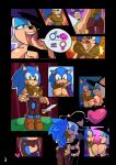 <3 1girl anthro armwear bat big_breasts blue_eyes blue_lipstick blush breast_squish breasts cameltoe clothed clothing cuisine elbow_gloves female/female french_kissing furry gender_transformation gloves green_eyes hat hedgehog kissing legwear mammal melee_weapon nipples rouge_the_bat sega skimpy sonic_the_hedgehog stockings stockings sword transformation weapon witch_hat