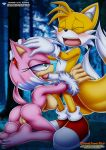 amy_rose amy_the_werehog anus ass barefoot bbmbbf big_breasts blowjob blush breasts erect_nipples fellatio miles_prower mobius_unleashed palcomix pussy sega soles sonic_(series) tagme toes