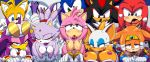 "ahegao aku_tojyo amy_rose animal_ears bent_over big_breasts blaze_the_cat blue_eyes blush breasts closed_eyes from_behind furry glasses gloves green_eyes highres hot knuckles_the_echidna miles_""tails""_prower multiple_boys multiple_girls nipples nude pink_hair rouge_the_bat sex sexy shadow_the_hedgehog short_hair sonic sonic_the_hedgehog tail tikal_the_echidna wave_the_swallow"