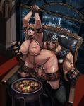 bdsm big_ass big_breasts blindfold bondage bound chained hardcore tina xxoom