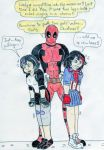 big_hero_6 deadpool gogo_tomago kill_la_kill matoi_ryuuko ryuko_matoi wedgie
