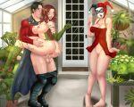 batman_(series) dc_comics harleen_quinzel harley_quinn inviting lingerie no_panties pamela_isley poison_ivy pussy red_robin sex suspended_congress tim_drake vaginal vaginal_penetration