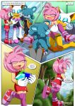 amy_rose bbmbbf comic furry mobius_unleashed palcomix relic_the_pika rouge_the_bat sega sonic_xxx_project_4