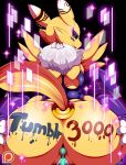 1girl anthro anus big_breasts breasts digimon furry nipples pussy renamon teddy_jack video_games