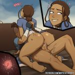 anus ass avatar:_the_last_airbender big_ass big_penis big_testicles bottomless brother brother_and_sister female impregnated impregnating impregnation incest katara male mrpotatoparty penis pussy sister sokka testicles x-ray