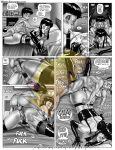 chichi comic dragon_ball_z incest milftoon son_gohan son_goten