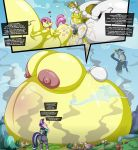 1girl 2018 anthro anthrofied areola armor ass balls belly big_ass breast_expansion breasts cum cum_inflation dialogue discord_(mlp) english_text equine excessive_cum fluttershy_(mlp) friendship_is_magic horn hyper inflation lagomorph male male/female mammal my_little_pony nipples pegasus penis ponyville rabbit royal_guard_(mlp) sex starlight_glimmer_(mlp) text unicorn wings wolfjedisamuel