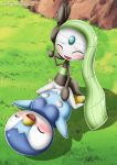 bbmbbf cum cum_in_pussy interspecies male/female meloetta palcomix piplup pokemon pokepornlive