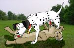101_dalmatians crossover disney lady_and_the_tramp photo_background pongo tramp