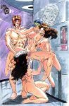 ass breasts dildo erect_nipples fingering gambit hairless_pussy huge_breasts jubilation_lee jubilee kitty_pryde marvel nipples nude professor_xavier pussy pussy_juice rob_durham rogue shadowcat spread_legs x-men