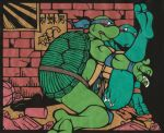leonardo michelangelo teenage_mutant_hero_turtles teenage_mutant_ninja_turtles