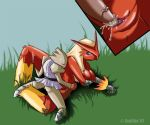 blaziken hitmonchan nintendo pokemon zanthia