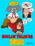 elephant john_mccain mascots republican sarah_palin thebigmansini