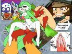 absol blaziken gardevoir lynxia lynxia_(artist) mightyena nintendo pikachu pokemon vulpix