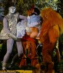 1995 cowardly_lion dorothy_gale scarecrow the_wizard_of_oz tin_man wizard_of_oz