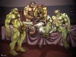 captaingerbear crossover final_fantasy final_fantasy_xi galka gay orc world_of_warcraft