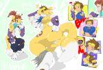 digimon genderswap renamon rika rika_nonaka rule_63 takato_matsuki