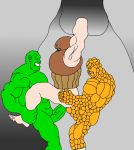 avengers ben_grimm fantastic_four hulk juggernaut marvel ramsey276 the_thing