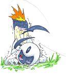 absol pokemon quilava tagme white_background