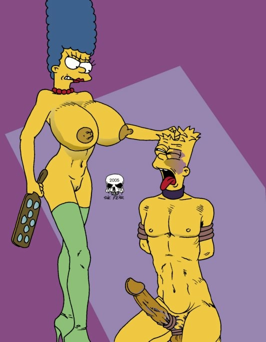 Porn bart simpson marge and Bart Simpson