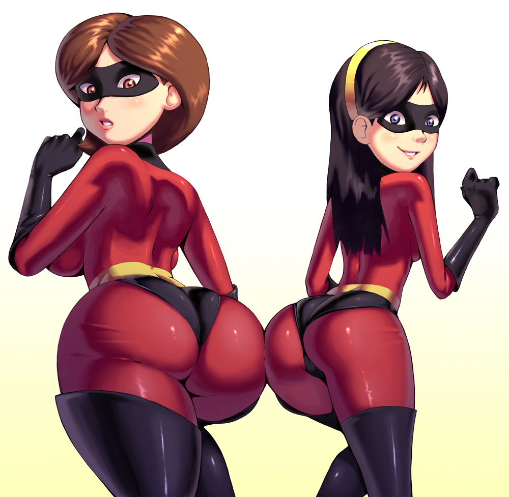 Big boobs cartoon disney elastagirl helen parr hot