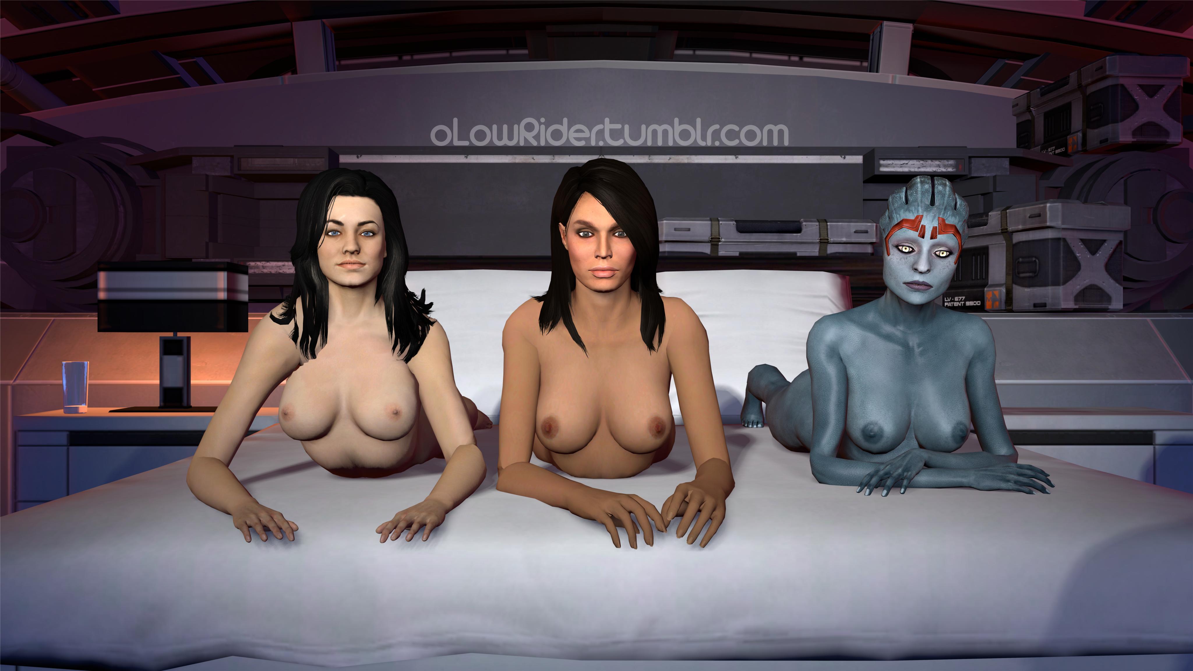mass effect 3 nude