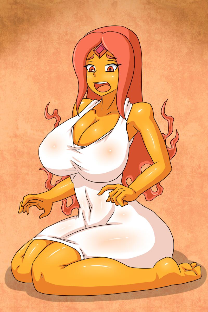 Adventure Time Big Boobs xbooru - adventure time big breasts breasts cleavage curvy