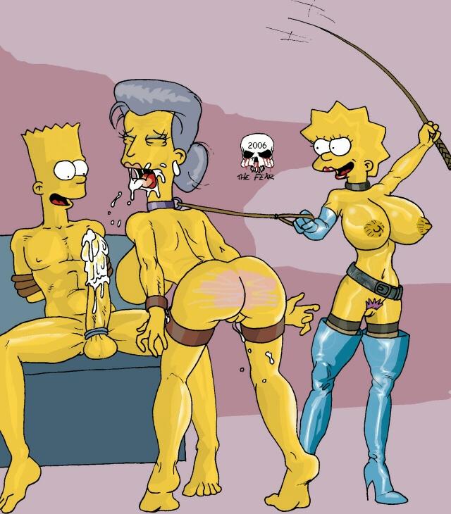 Simpsons bdsm the Simpsons Porn
