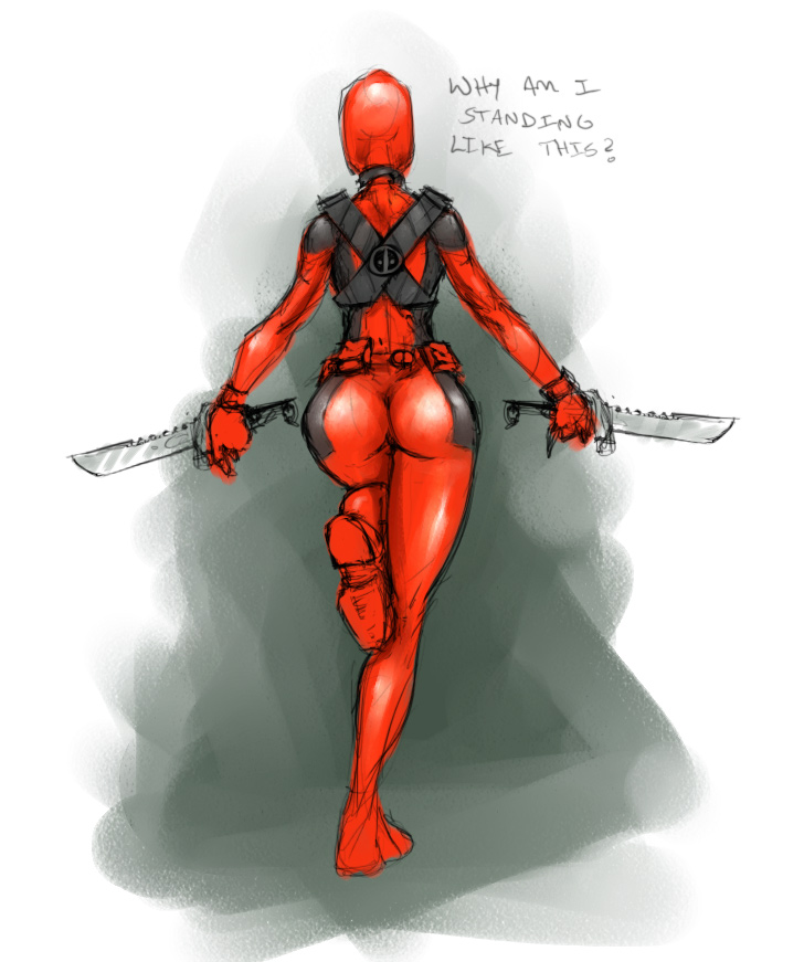 ass deadpool knives lady_deadpool marvel rule_63