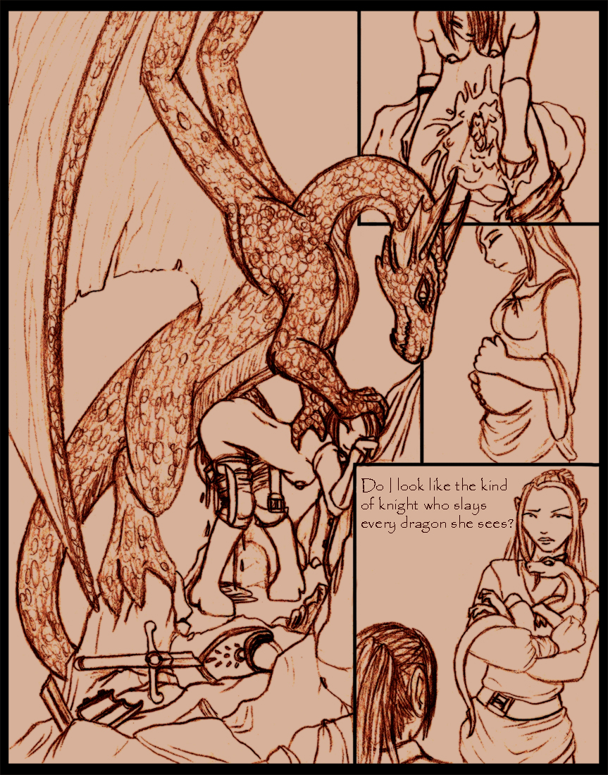 1_girl 1girl after_rape against_wall armor artist_request baby bent_over comic cum cum_drip cum_in_pussy cum_pool dragon english_text female female/feral feral_dragon forced furry hair hybrid impregnation interspecies knight long_hair male male/female male_dragon male_feral_dragon mf monochrome pregnant rape sex shield sitting size_difference text topless wings