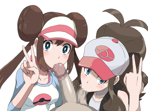 hilda blowjob pokemon