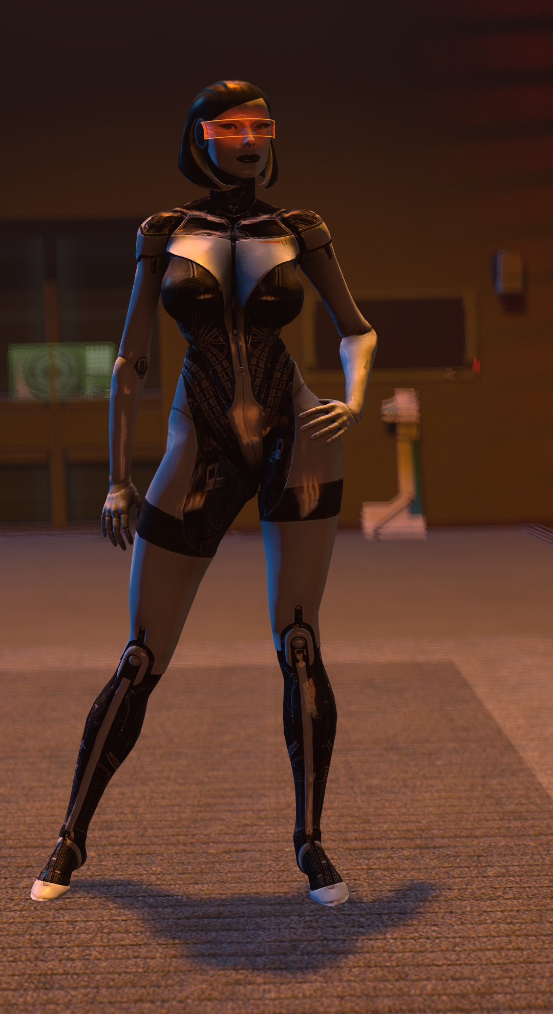 android big_breasts breasts edi looking_at_viewer mass_effect mass_effect_3 robot source_filmmaker