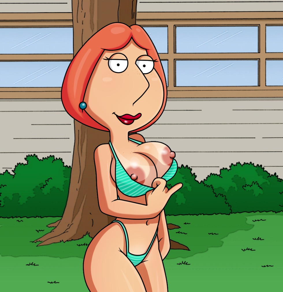 badbrains bikini breasts erect_nipples family_guy flashing lois_griffin thighs