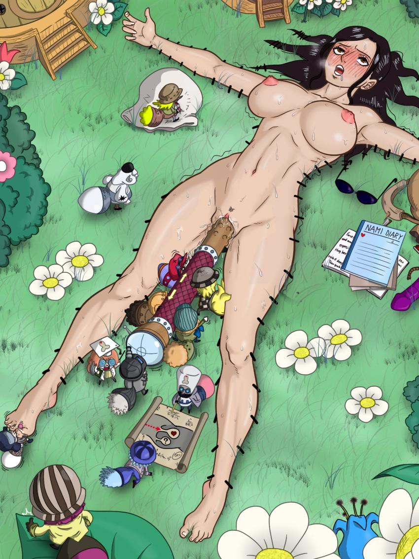 Nico robin nude