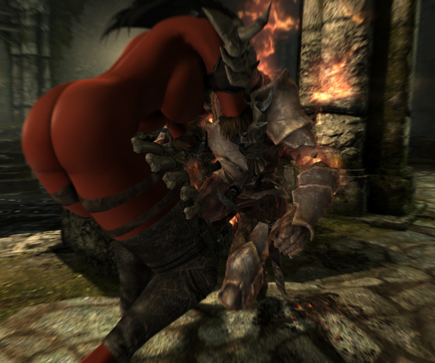 daedra demon_girl huge_ass huge_breasts skyrim